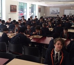 Special Breakfast for 93 of our 40/40 Students