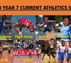 All Years Athletics Club, Weds 3-4.30pm - Come Along!