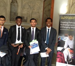 Sixth Formers Discover Apprenticeship Opportunities at Guildhall Careers Event