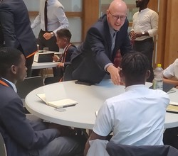 Enterprise Students Explore Careers at World's 5th Biggest Investment Bank