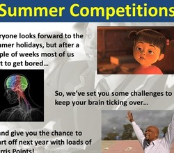 Summer Competitions - Earn Loads of Harris Points