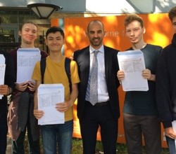 Harris Boys' Academy East Dulwich Celebrates Superb GCSE Results