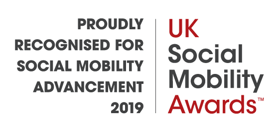 Uksma Proudly Regognised for Social Mobility Advancement 2019