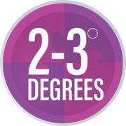 2 3 Degrees logo edited