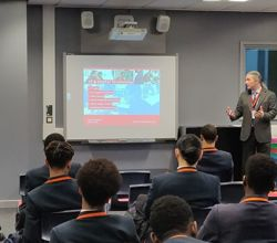Southwark College Talk to Year 11 About Post-GCSE Options