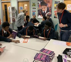 Penguin Books Visit on World Book Day