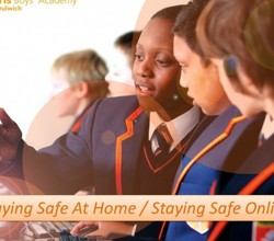 Staying Safe at Home & Staying Safe Online