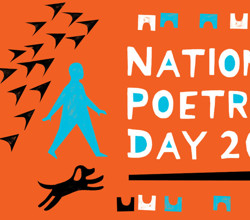 Celebrating National Poetry Day, 1st October 2020