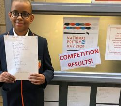 Meet Our National Poetry Day Competition Winners