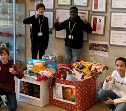 Boys Collect over 250kg of Donations for Southwark Foodbank