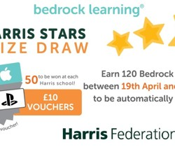 Win £10 Vouchers with Bedrock Learning