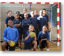 Under 13 handball team reach London final