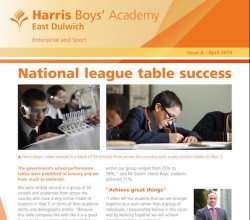 Latest Academy Newsletter - April 2015