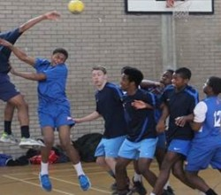 KS3 Handball team win regional finals