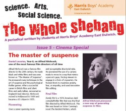The Whole Shebang - Issue 5 - Student Periodical