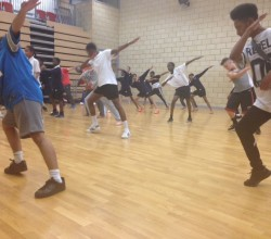 BRIT School  Dance Workshop Inspires Students
