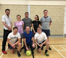 Staff vs Post 16 Matches Raise Sport Relief Cash