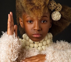Afro Art Photographers Work with HGAED Girls