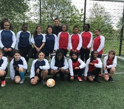 Girls Enter Southwark U14 Football Tournament