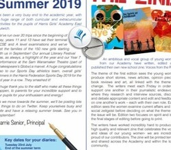 Summer 2019 Newsletter - Download Your Copy Here