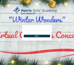 Winter Wonders Virtual Concert - Watch Here!