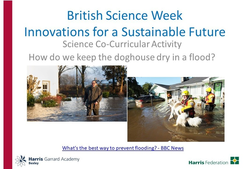 Science Co Curricular Online Flooding