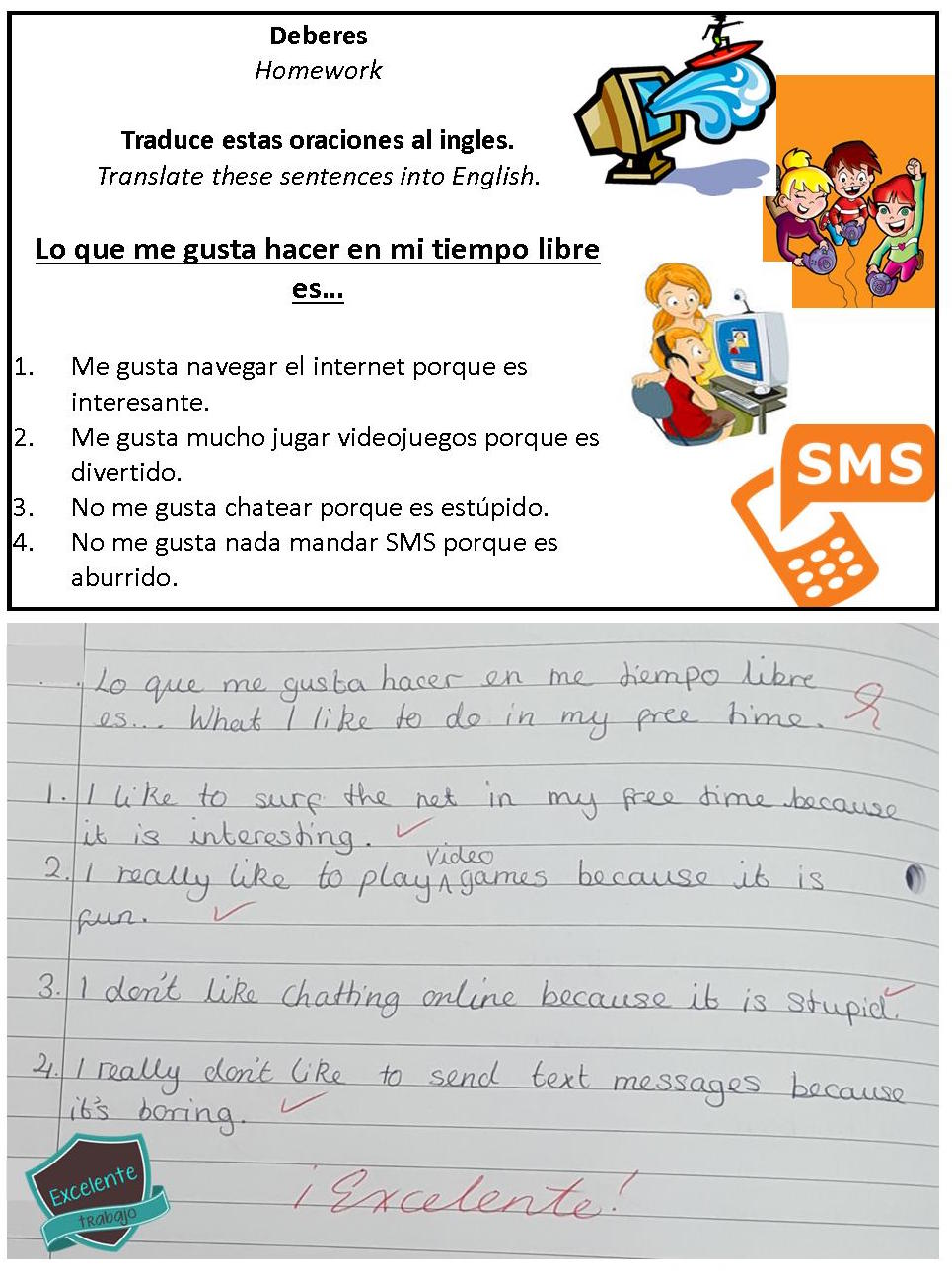 Spanish homework example 22.11.17