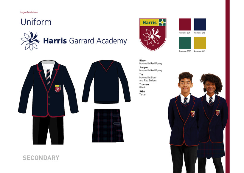 Secondary uniform