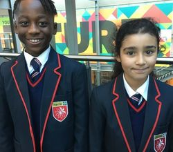 Year 7 Students on Their First Term at Secondary School