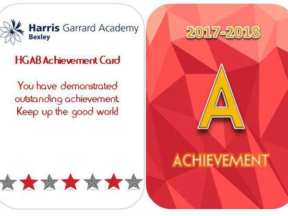 Achievement card