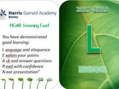 Hga learning card 1