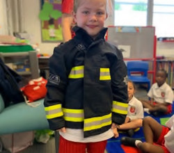 London Fire Brigade Help Children Stay Safe at Home