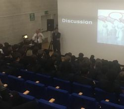 Deloitte Presentation Inspires Business and Economics Students