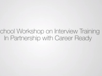 Video from Career Ready Worksh...