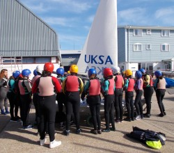 UKSA Girls sailing trip