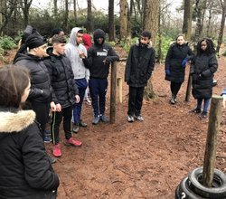 Year 11 Study Skills Trip to Hindleap Warren