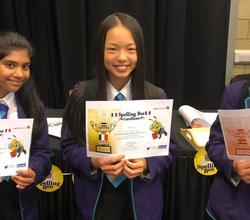 French Spelling Bee - Invictus Wins Harris Federation Trophy