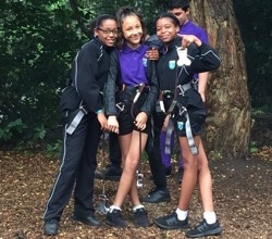 Year 7 'Go Ape' in Battersea Park