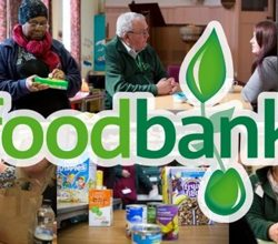 Collecting Food for Croydon Community Foodbank