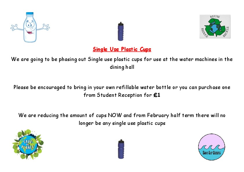 Refillable water bottles november 2018