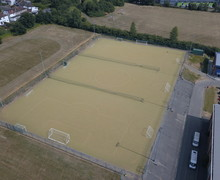 Astroturf aerial view