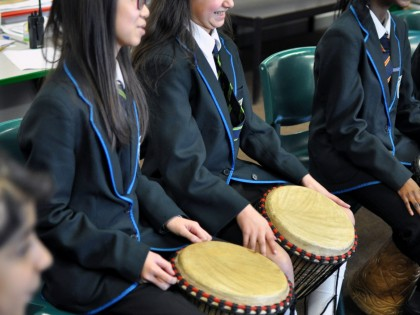 African Drumming Workshop 2016