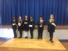 Spelling Bee 1 - March 2017