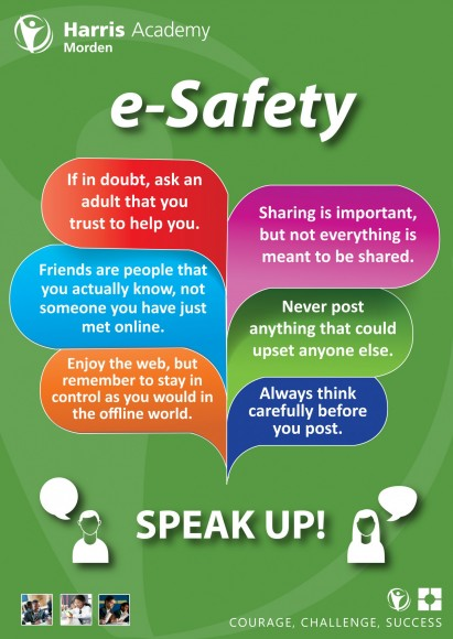 e-Safety Poster - Sept 2014 - Update
