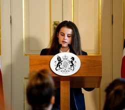 Students Step Into Prime Minister's Shoes at Number 10