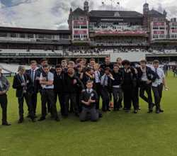 Budding Crickets Visit Oval to Watch Surrey