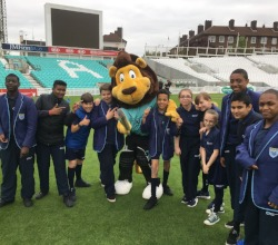 Peckham students attend cricket festival