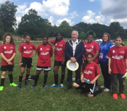 Southwark Girls Football London Youth Games