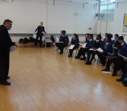 Year 8 Tempest workshop