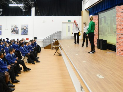 Year 7 Road Safety assembly Se...